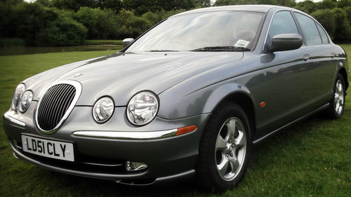 2001 Jaguar S-Type V6 SE 1