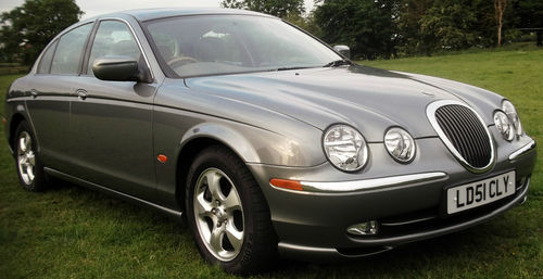 2001 Jaguar S-Type V6 SE 2
