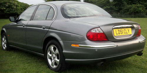 2001 Jaguar S-Type V6 SE 3