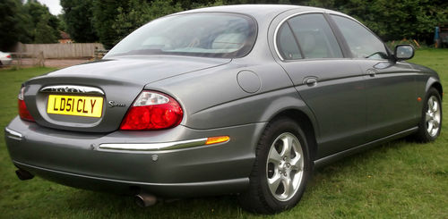 2001 Jaguar S-Type V6 SE 4