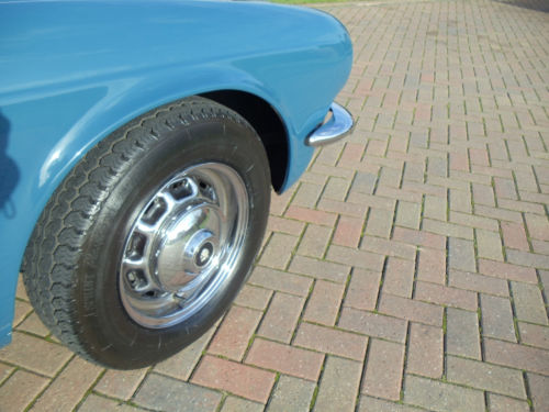1977 Jaguar XJ 3.4 Wheel Arch