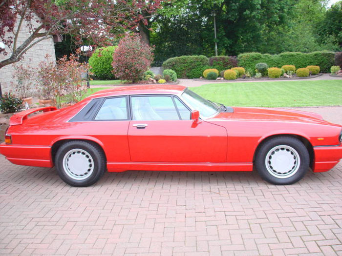 1989 jaguar jaguarsport xjr-s auto red 2