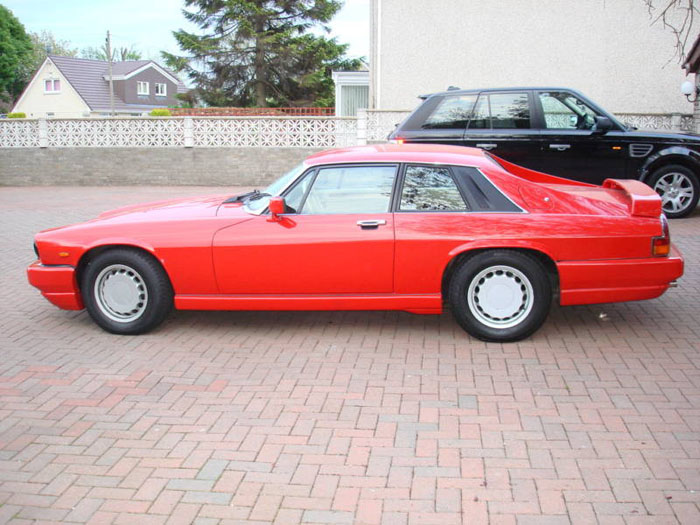 1989 jaguar jaguarsport xjr-s auto red 3