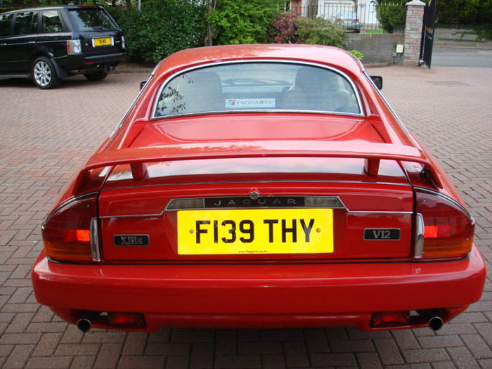 1989 jaguar jaguarsport xjr-s auto red 4