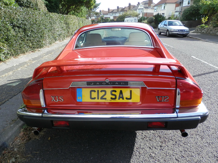 1990 Jaguar XJ-S 5.3 V12 Back