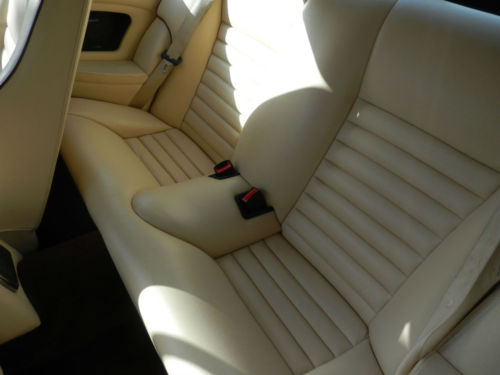 1990 Jaguar XJ-S 5.3 V12 Rear Interior