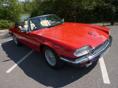1991 jaguar xjs v12 convertible 1