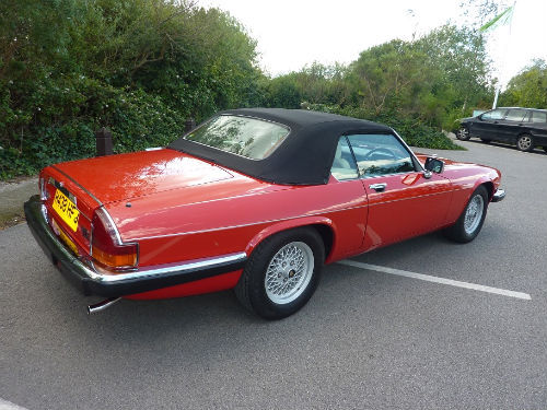 1991 jaguar xjs v12 convertible 4