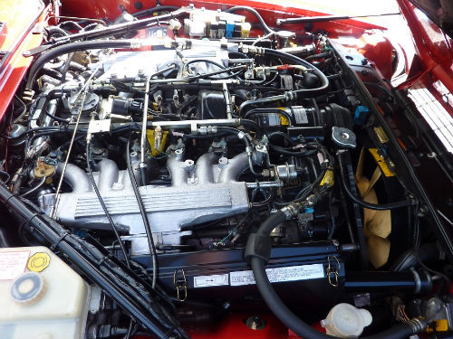 1991 jaguar xjs v12 convertible engine bay