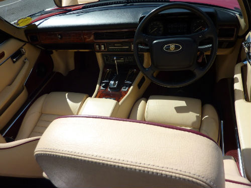 1991 jaguar xjs v12 convertible interior