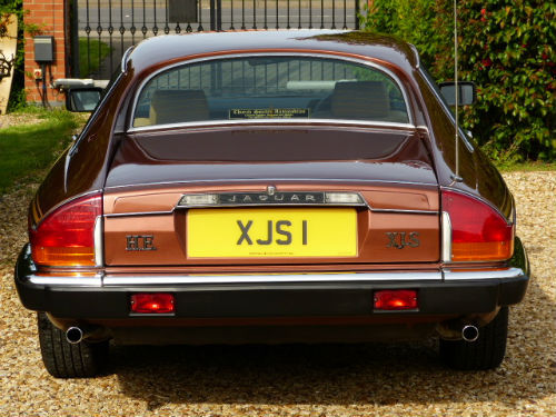 1981 Jaguar XJ-S 5.3 V12 HE Back