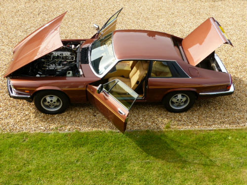 1981 Jaguar XJ-S 5.3 V12 HE Doors Open