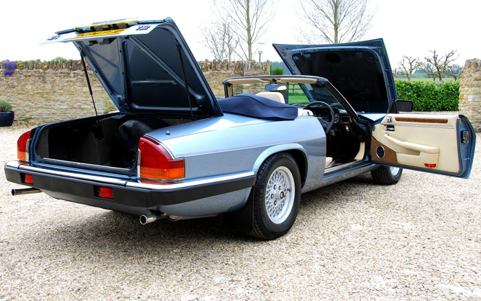 1988 Jaguar XJ-S V12 Doors Open Back