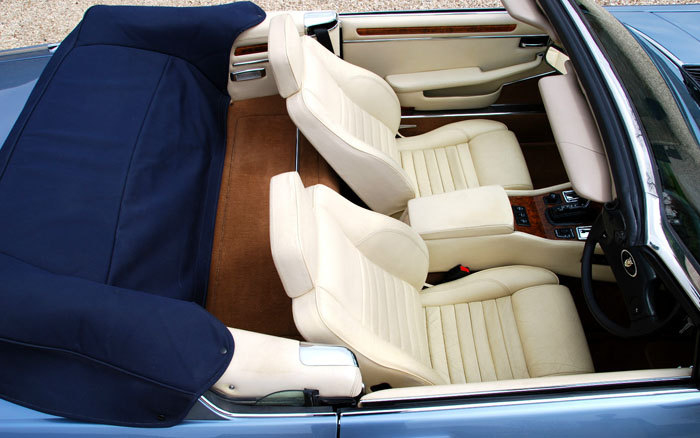 1988 Jaguar XJ-S V12 Interior Seats