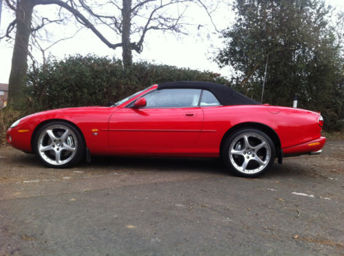 2003 jaguar xkr auto red 4.2 premium supercharged 400 bhp 5