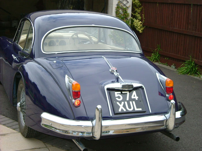 1959 Jaguar XK 150 FHC Back