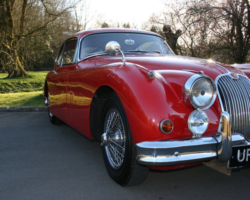 1958 Jaguar XK-150 SE FHC Side View 2