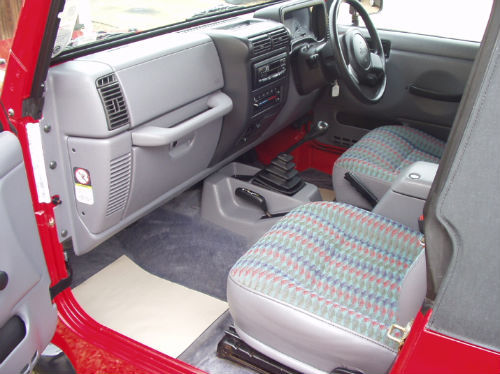 1997 jeep wrangler 2.5 sport convertible interior 2