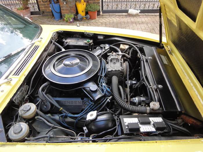 1972 Jensen Interceptor Series 3 SP Engine Bay