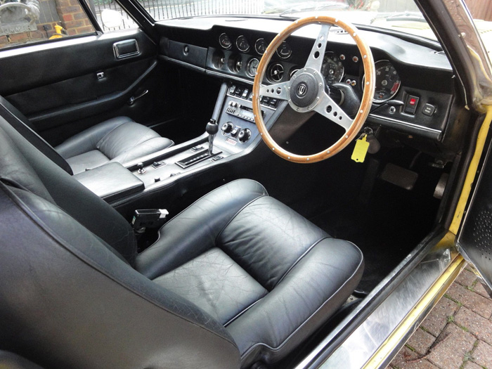 1972 Jensen Interceptor Series 3 SP Interior 1