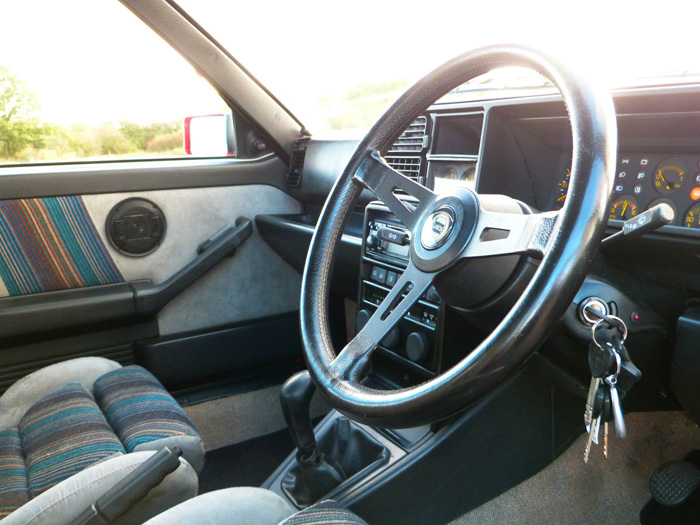 1990 Lancia HF Intergrale Steering Wheel