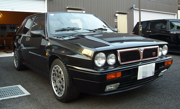 1992 lancia integrale 16v delta hf turbo 2