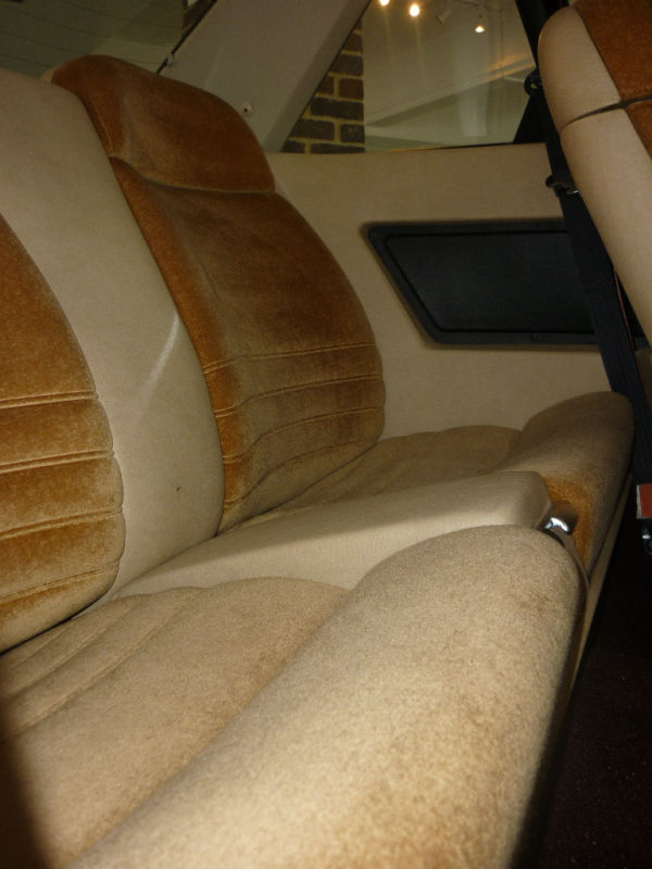 1978 lancia gamma coupe rear seats