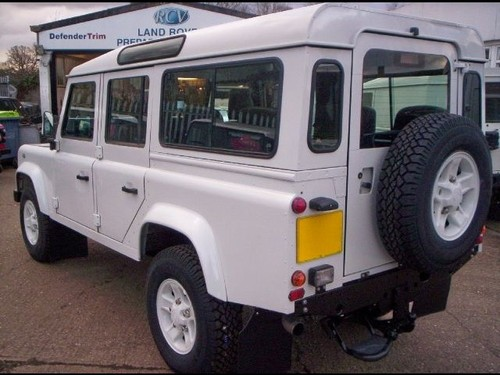 2000 land rover defender 110 county station wagon 49 4