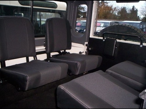 2000 land rover defender 110 county station wagon 49 interior 2