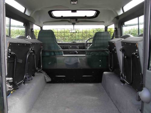 1998 land rover 90 defender tdi interior 2