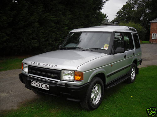 1997 land rover discovery tdi 1