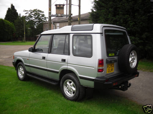 1997 land rover discovery tdi 4