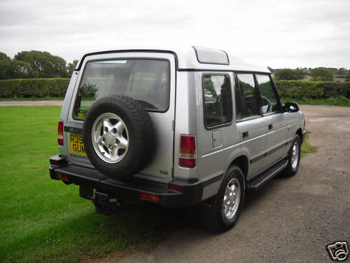 1997 land rover discovery tdi 5