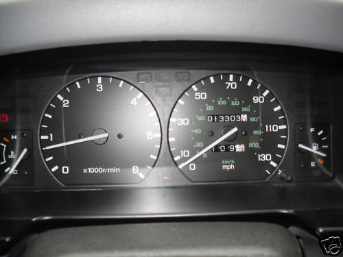 1997 land rover discovery tdi dashboard