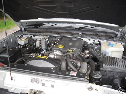 1997 land rover discovery tdi engine bay