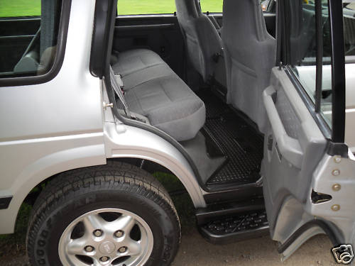 1997 land rover discovery tdi interior 2