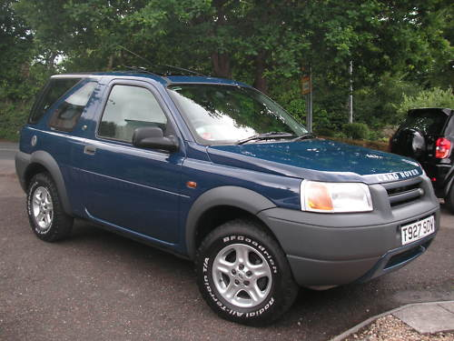 1999 land rover freelander xei 1.8l blue 1