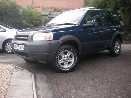 1999 land rover freelander xei 1.8l blue 2