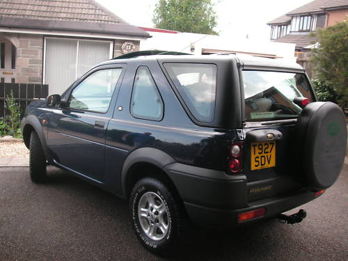 1999 land rover freelander xei 1.8l blue 3
