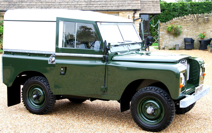 1979 Land Rover Series 3 SWB 1