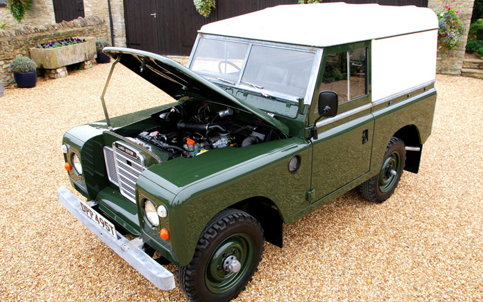 1979 Land Rover Series 3 SWB 4