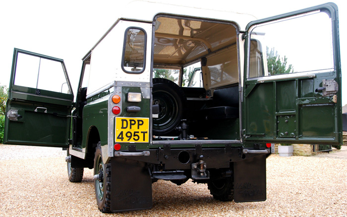 1979 Land Rover Series 3 SWB 6