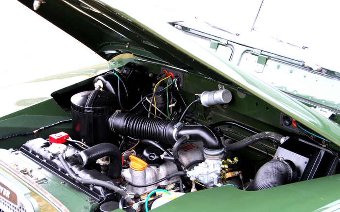 1979 Land Rover Series 3 SWB Engine Bay