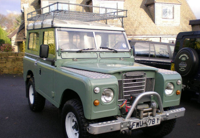 1983 land rover series 3 88 station wagon swb 1