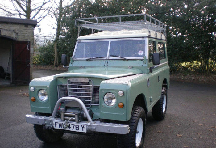 1983 land rover series 3 88 station wagon swb 3