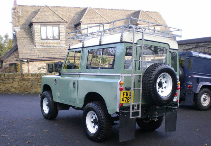 1983 land rover series 3 88 station wagon swb 4