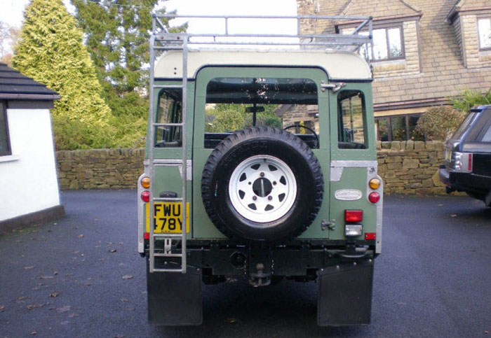 1983 land rover series 3 88 station wagon swb 5