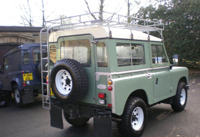 1983 land rover series 3 88 station wagon swb 6