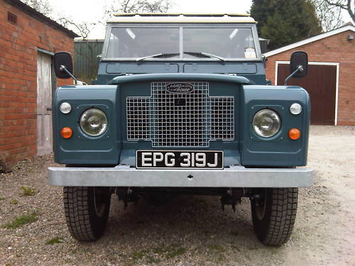 land rover series 2a 109 station wagon 2.6 2