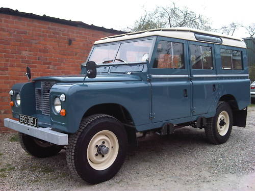 land rover series 2a 109 station wagon 2.6 3